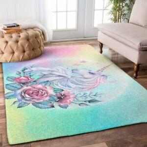Unicorn Rose ,Area Rug Decorative Floor Rug Carpet