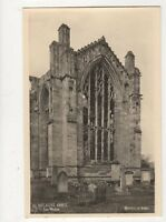 Melrose Abbey East Window RP Postcard 496a