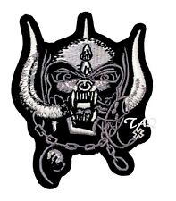 MOTORHEAD WAR PIG Patch Embroidery iron on / sew on patch rock metal UK Seller