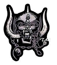 Motorhead War Cerditos Parche Bordado Hierro en / Parche para Coser Rock Metal