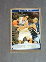 J.J. Redick Rookie Orlando Magic Duke 2006-07 Topps Chrome #198