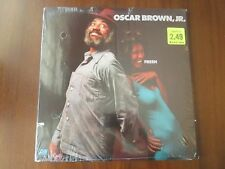 OSCAR BROWN JR Fresh LP Atlantic SD 18106 VG+/NM 1974