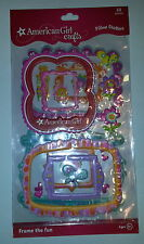 American Girl Crafts - Scrapbook Pillow Stickers Pillow 3D Frame Raised Puffy