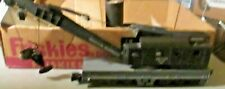 AMERICAN FLYER S GAUGE 944 CRANE CAR COUPLERS WORK COMPLETE AND ALL ORIGINAL