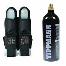 Tippmann 20oz Steel Co2 Paintball Tank + Tippmann Sport 2 Harness Pod Pack