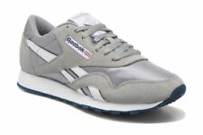 Reebok Classic Royal Nylon 36088 Athletic Platinum Jet Blue Grey Mens Shoes Sizs