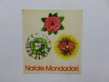 VECCHIO ADESIVO / Old Sticker NATALE MONDADORI (cm 7 x 8)