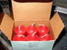Partylite 1 box Scarlett Blossoms votives Nib And Very Rare