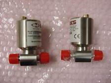 2 Ea. MKS 52A21PCH2AA007 Baratron Pressure Switch Range 20 PSIA, Trip Pt 7 PSIA