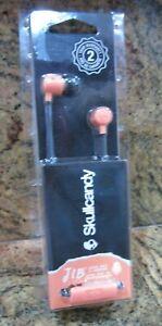 New Skullcandy Orange JIB Earbuds