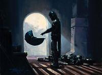 Star Wars Art The Bounty 12 x 16 LE Wrap Canvas by Rodel Gonzalez Baby Yoda