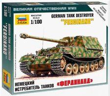 SD.KFZ.184 Kit Modelo 1/100 destructor de tanque Ferdinand-Zvezda 6195