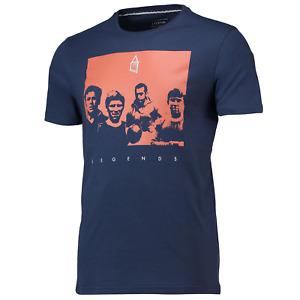 Everton Football T-Shirt Men's Fanatics Terrace Legends T-Shirt - Navy - New