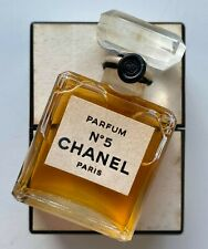 Chanel no 5 parfum 7 ml 0.25 fl oz VINTAGE BOTTLE SEALED