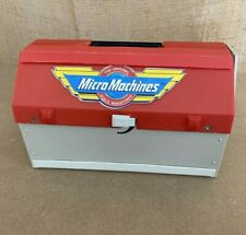 Micro Machines Super City Toolbox 1988 Galoob Vintage Playset NEAR COMPLETE 6420