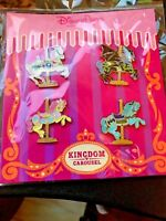 Disney Pin 121041 Kingdom Carousel Booster Set