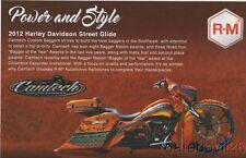 2016 Camtech Custom Baggers R-M '12 Harley Davidson Street Glide SEMA info card