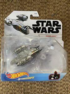 NEW! 2021 Hot Wheels Starships Star Wars The Mandalorian  RAZOR CREST Mint Vhtf