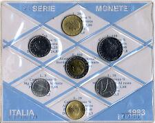 REPUBBLICA ITALIANA - SERIE DIVISIONALE MONETE ITALIA 1983 FIOR DI CONIO
