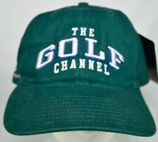 The Golf Channel Green Baseball Cap Hat Adjustable Back NEW With Tag TGC