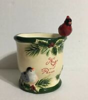 Yankee Candle Hope And Peace Winter Autumn Fall Cardinal Scent Warmer