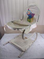 Vintage Teeter-baby Jumper No.56 Baby Bouncer Canvas Cloth Seat c.1950's