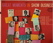 "VARIOUS ARTISTS!! - ""GREAT MOMENTS IN SHOW BUSINESS"" EPIC LN-3234 MONO EX!!"