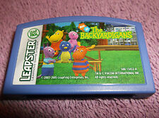 LEAP FROG LEAPSTER GAME THE BACKYARDIGANS CARTRIDGE 2003 - 2005