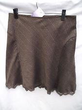 BNWT Womens Sz 20 Very Smart Chocolate Undercoverwear Soft A Line Skirt RRP $69