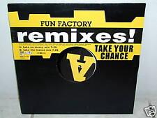 """*****FUN FACTORY""""TAKE YOUR CHANCE-Remixes""""-12""""Inch*****"""