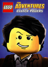LEGO: The Adventures of Clutch Powers (DVD, 2015) NEW