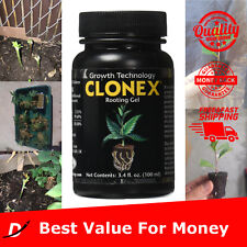 100 Ml Cloning Rooting Gel Kit Clonex Compound For Cuttings Marijuana Cups Plant