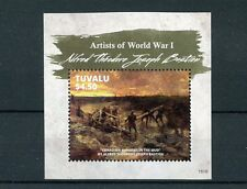 Tuvalu 2015 MNH Artists of First World War Alfred Bastien WWI WW1 1v S/S Stamps