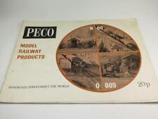 PECO MODEL RAILWAY PRODUCTS CATALOGUE 1971 Various Gauges N, OO/HO, O, TT etc