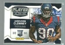 2014 Panini Player of the Day Thick Stock #RC11 Jadeveon Clowney (ref52119)
