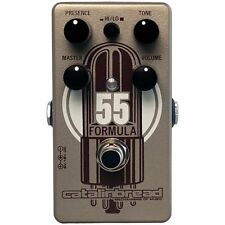 Catalinbread Formula No. 55 Vintage Tweed Deluxe Over Drive Effects Pedal NEW