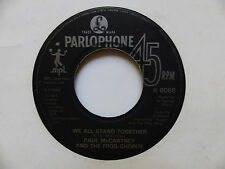 PAUL MCCARTNEY We all stand together R6086 Pas de label face B R 6086 A 1 1 1 11