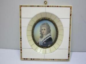 "Miniaturbild  ""Maria Theresia v. Österreich"" (Gr. ca. 10,5 x 11 cm) AS319"