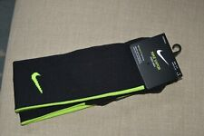 Nike Vapor Football Dri-Fit Knee High Socks Black Volt Green Men 6-8 Women 6-10