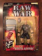 Jakks Pacific Raw Is War WWF Stone Cold Steve Austin Action Figure,MISP