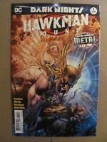 Dark Nights Hawkman Found #1 DC 2017 Metal Tie In Jim Lee Variant 9.6 NM+