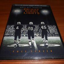 Friday Night Lights (DVD, 2005, Full Frame) Billy Bob Thornton NEW