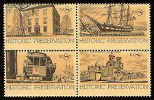 """1440-43 Huge Color Shift Error / EFO """"Historic Preservation"""" Mint NH"""