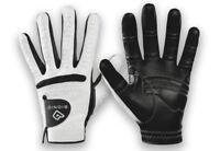 Bionic Gloves Mens RelaxGrip Golf Glove Worn on Left Hand Cadet Large Black Palm