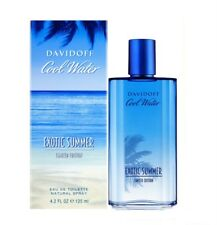 Davidoff Cool Water Exotic Summer Eau De Toilette 4.2 oz WORLD SHIP $8