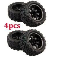 4 PCS Off-Road Tires Set Wheel Rim For HPI HSP Traxxas 1:10 RC Car Buggy Tires