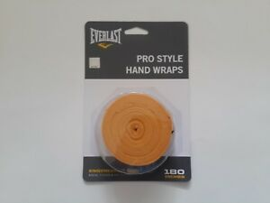 """Everlast Pro Style Hand Wraps 4456Series Boxing Fitness MMA Training 180""""/4.6m"""