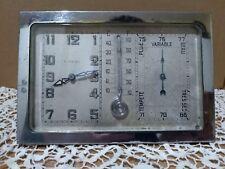 """Orologio 8 giorni stile Hebdomas termometro,barometro prima metà del 900"""""""