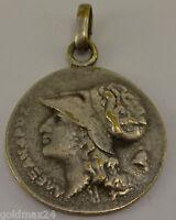 Medaille versilbert / Griechische Antike