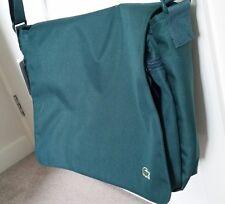 LACOSTE Unisex Shoulder Messenger work Uni Travel Laptop Gym Bag 40 X 32 X 10 CM